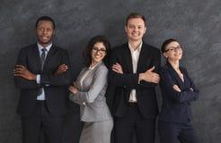 Portret lidery biznesu w formalnej odzieży zdjęcia royalty free