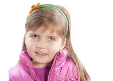 The portret of little girl Stock Image