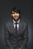 Portret mądrze młody męski kierownictwo zdjęcia royalty free