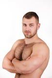 Portret mężczyzna atrakcyjna postać obrazy royalty free