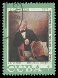 Portret mężczyzna Vermay Zdjęcie Stock