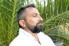 Portret mężczyzna z brodą zdjęcia stock