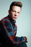 Portret męski mężczyzna Obraz Stock