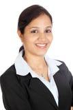 Portret młoda biznesowa kobieta Zdjęcie Stock
