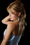 Portret młoda blondynka fotografia royalty free