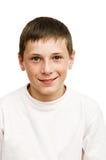 Portret młoda chłopiec Zdjęcia Royalty Free