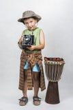 Portret młoda chłopiec Zdjęcie Stock