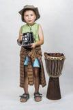 Portret młoda chłopiec Zdjęcia Stock