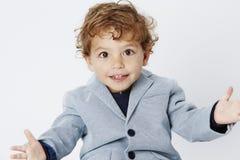 Portret młoda chłopiec Obrazy Royalty Free