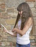 Portret młoda dziewczyna Zdjęcie Stock