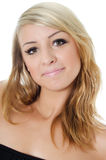 Portret młoda piękna dziewczyna zdjęcia royalty free