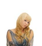 Portret młoda piękna kobieta Zdjęcie Stock