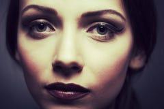 Portret Młoda Piękna kobieta zdjęcie royalty free