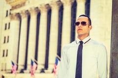 Portret Młody Amerykański biznesmen Zdjęcie Royalty Free