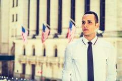 Portret Młody Amerykański biznesmen Fotografia Stock