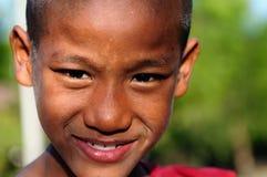 Portret młody Birmański michaelita Zdjęcie Royalty Free