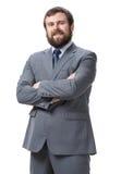 Portret młody biznesmen zdjęcia stock
