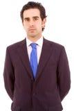 Portret młody biznesowy mężczyzna Zdjęcia Stock