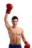 Portret bokser Zdjęcia Royalty Free