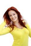 Portret młoda atrakcyjna biznesowa kobieta Obraz Stock