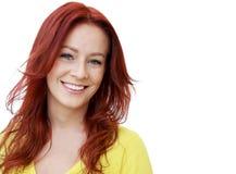Portret młoda atrakcyjna biznesowa kobieta Obrazy Royalty Free