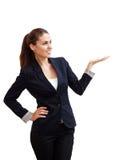 Portret młoda atrakcyjna biznesowa kobieta Zdjęcia Royalty Free