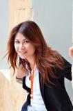Biznesowa kobieta Zdjęcia Royalty Free