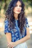 Portret młoda dama zdjęcie stock