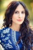Portret młoda dama fotografia royalty free