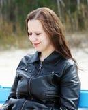 Portret młoda kobieta Obrazy Stock