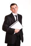 Portret młody biznesmen Obraz Stock