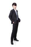 Portret młody przystojny biznesmen Zdjęcia Royalty Free