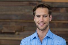 Portret męski dyrektor wykonawczy Fotografia Stock