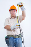 Portret męski mechanik Zdjęcie Royalty Free