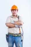 Portret męski mechanik Obrazy Royalty Free
