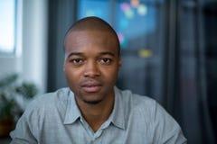 Portret męski projektant grafik komputerowych Obraz Royalty Free
