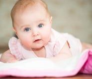 Het close-up van de baby Stock Foto's