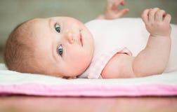 Het close-up van de baby Royalty-vrije Stock Afbeelding
