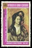 Portret Madame Benedetta Kanał Zdjęcie Stock