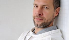 Portret marzycielski mężczyzna Fotografia Royalty Free