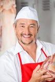 Portret masarki mienia mięso Zdjęcia Royalty Free
