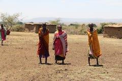 Portret massai kobiety Zdjęcia Royalty Free