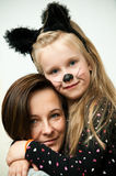 Portret Matka i Córka Obrazy Stock