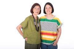 Portret Matka i Córka Zdjęcie Royalty Free