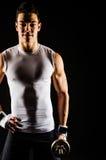 Portret mięśniowy mężczyzna Obrazy Stock