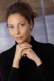 Portret młoda etniczna kobieta Zdjęcia Royalty Free