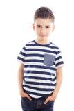 Portret modna chłopiec Fotografia Royalty Free