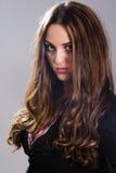 portret modne kobiety Zdjęcia Royalty Free