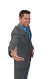 Businuss mężczyzna uścisk dłoni Obraz Royalty Free