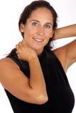 Portret: Mooie vrouw Stock Foto's